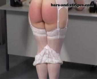 Spank yourself bare bottom