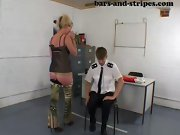 Spanked slave, mommy spanks