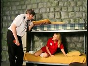 Governess spank punish, spanked bare by mom