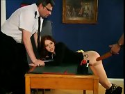 Women videos being spanked, spanked over moms knee