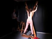 Wife spanked with switch, stable girls spanked