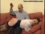 Girls getting bare bottoms spanked, girls being spanked