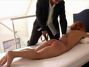 Spanked girlfriend, spanked slave