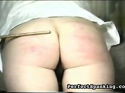 Perfect Spanking:  -  man on girl, then girl on girl