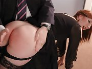 Spanking Sarah for sex and spanking