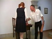 Teen spank, spanked girl