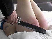 Spank slaves, boyfriend spanked me