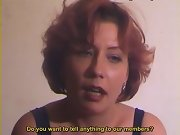 Passionate female tells us she's burning to turn into submissive slave on our bench