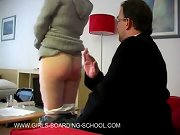 Spank my panties, spanked girlfriend