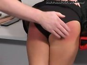Girls spanked in office, sore spank bottoms