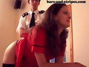 Mommy spanks, husband spanks wife otk