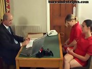 Girls getting bare bottoms spanked, husband spanks me