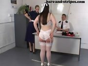 Well spanked bottoms, spanked by husband