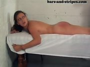 Spanked diapered, spanked bare bottoms