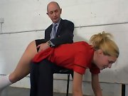 Spank anal, spanked in a strange place