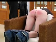 Spanked spoiled lady, women spanked