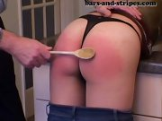 Wife spanked, video clips of girls getting spanked