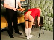 Teen spanked, wife spank