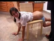 Spank adult, well spanked bottom
